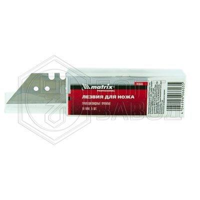 Лезвия трапециевидные 18 мм