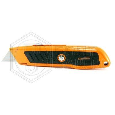 Нож 18 мм выдвижное трапециевидное лезвие двухкомпонентный корпус фирмы SPARTA