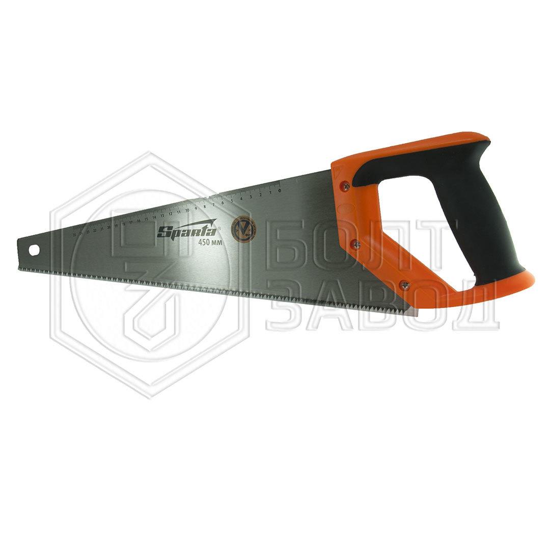 Ножовка по дереву 450 мм 7-8 TPI фирмы SPARTA