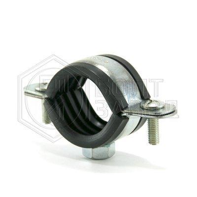 Хомут для труб с гайкой, 1 дюйм, диаметр 32-37 мм