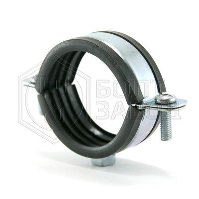 Хомут для труб с гайкой, 2 дюйма, диаметр 58-62 мм