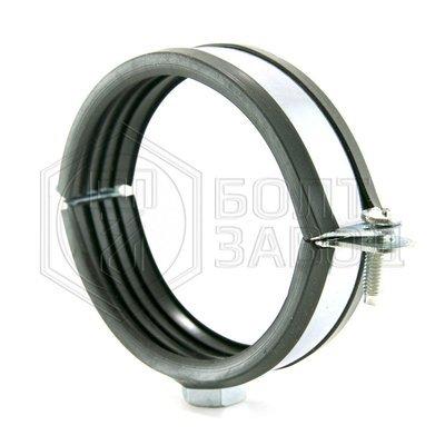 Хомут для труб с гайкой М10, 3 дюйма, диаметр 87-93 мм