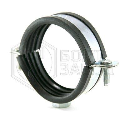 Хомут для труб с гайкой М10, 2 дюйма, диаметр 75-80 мм