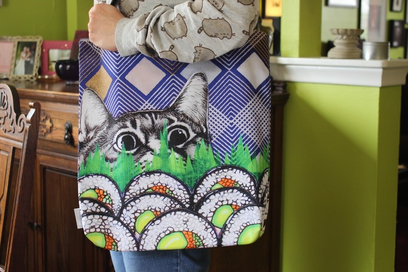 Sushi Cat Tote Bag