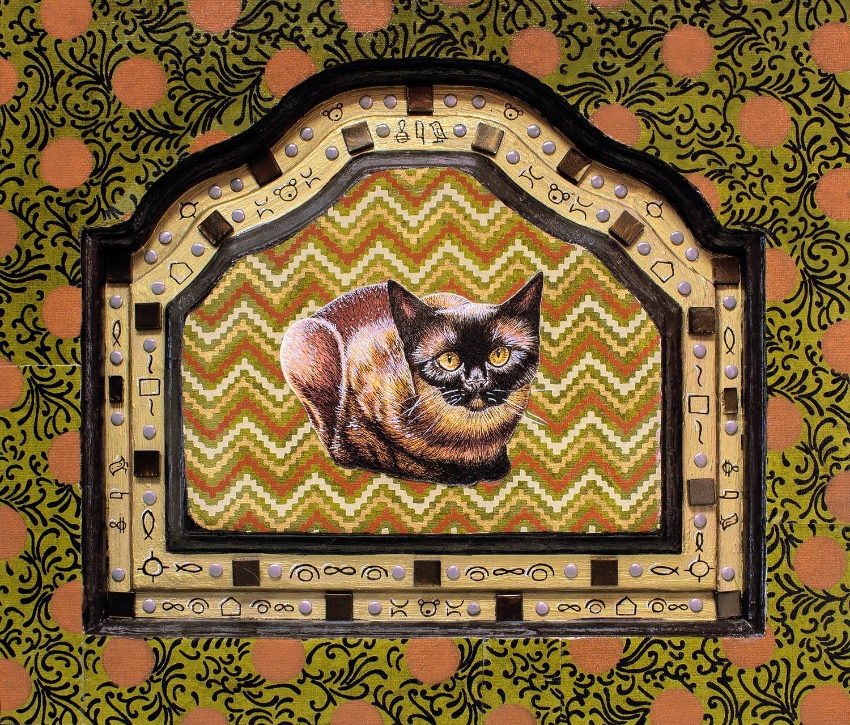 Cat Worship 8x10