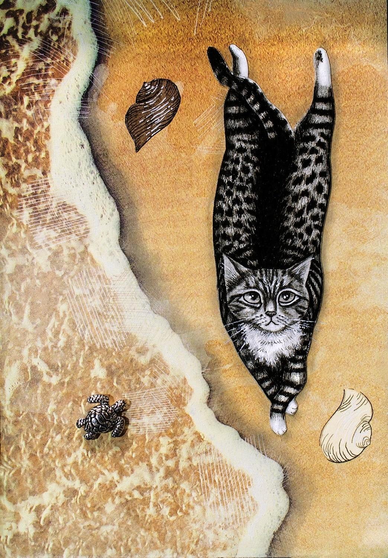 Beach Cat 8x10