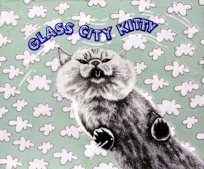 Glass City Kitty 8x10