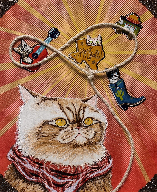 Lasso Kitty 8x10