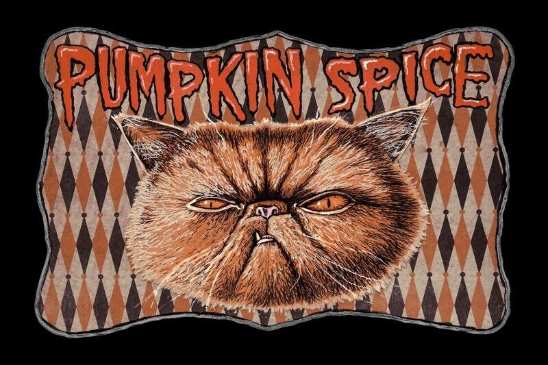 Pumpkin Spice Sticker