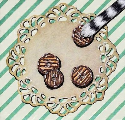 cookie paw 2 magnets