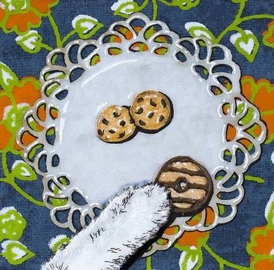 cookie paw 3 magnets