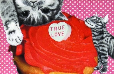 True love cats, Greeting cards