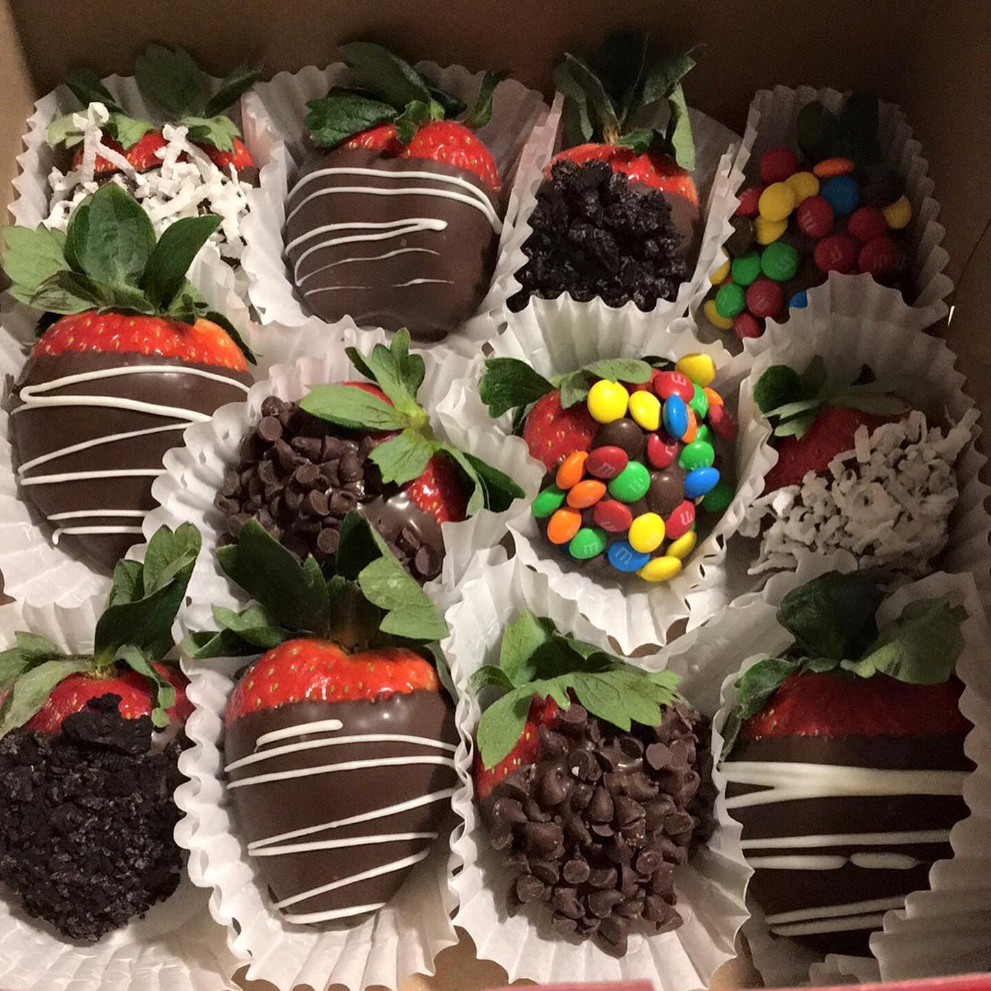 Deluxe Dipped Strawberries