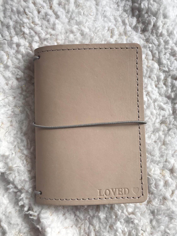 RTS Pocket notebook in Barley