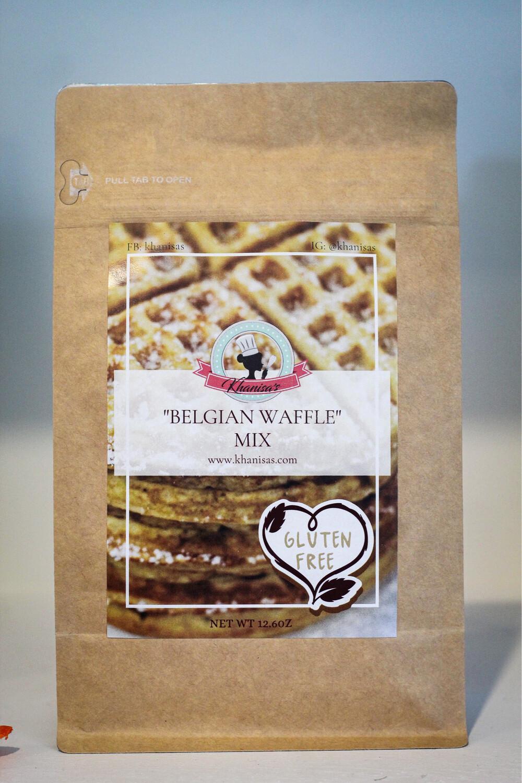 """GLUTEN FREE"" Belgian Waffle Mix"