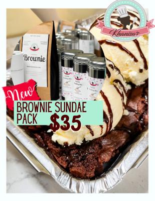 Brownie Sundae Pack