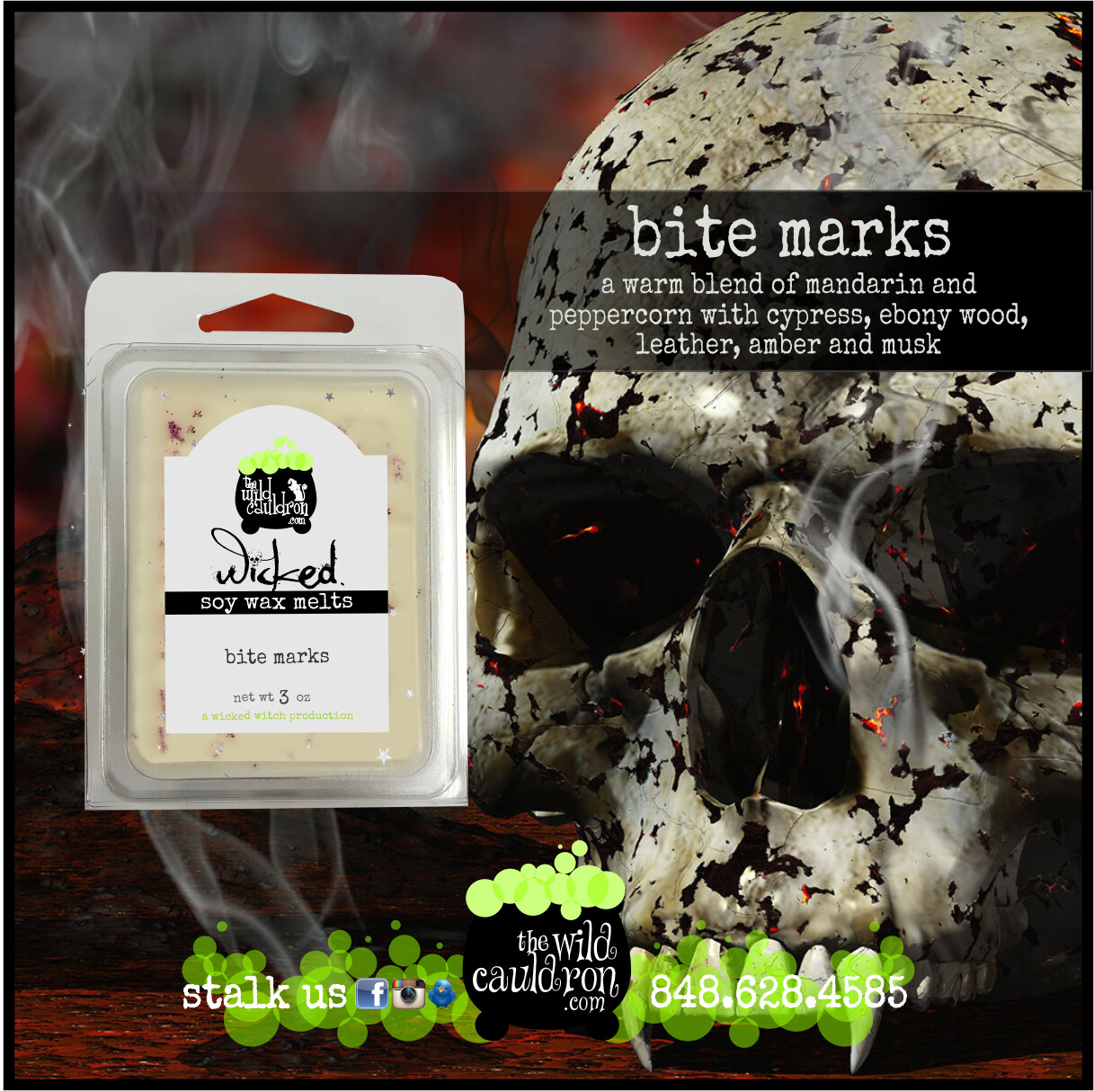 Bite Marks Wicked Wax Melts