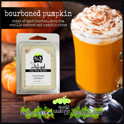 Bourboned Pumpkin Wicked Wax Melts