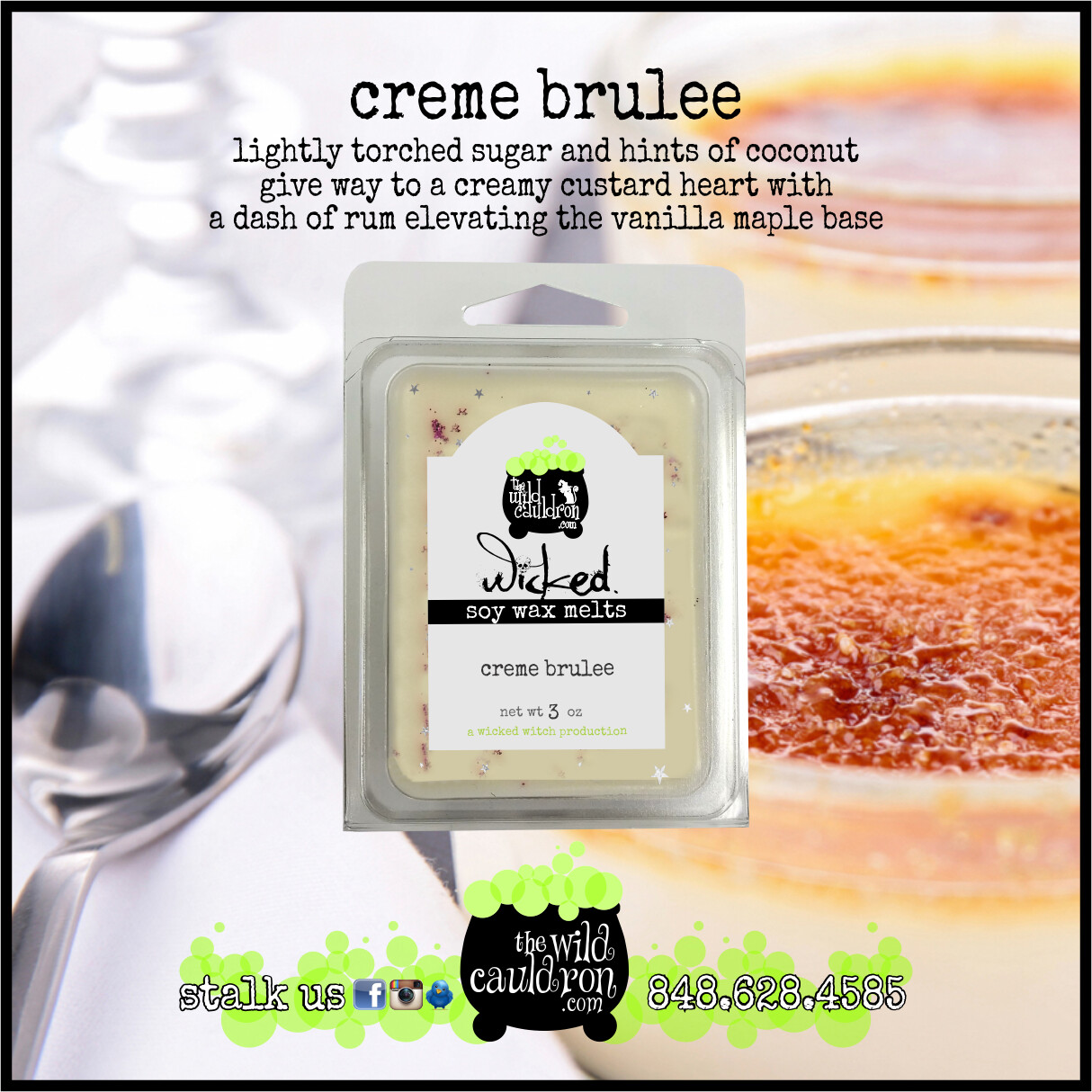 Creme Brulee Wicked Wax Melts