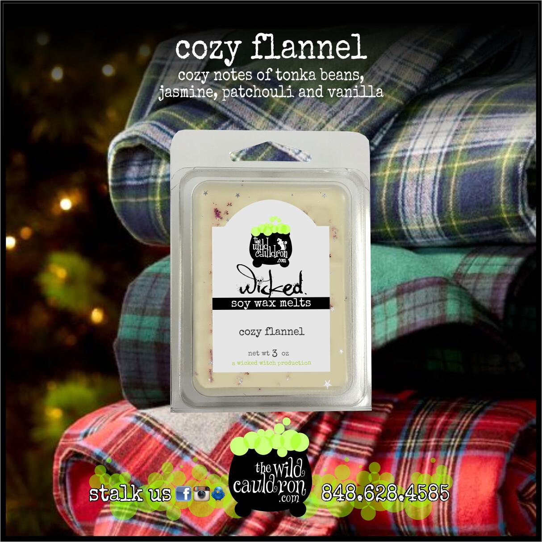 Cozy Flannel Wicked Wax Melts