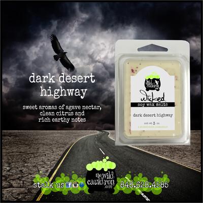 Dark Desert Highway Wax Melts