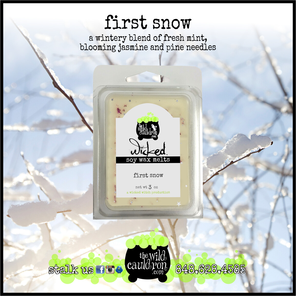 First Snow Wicked Wax Melts