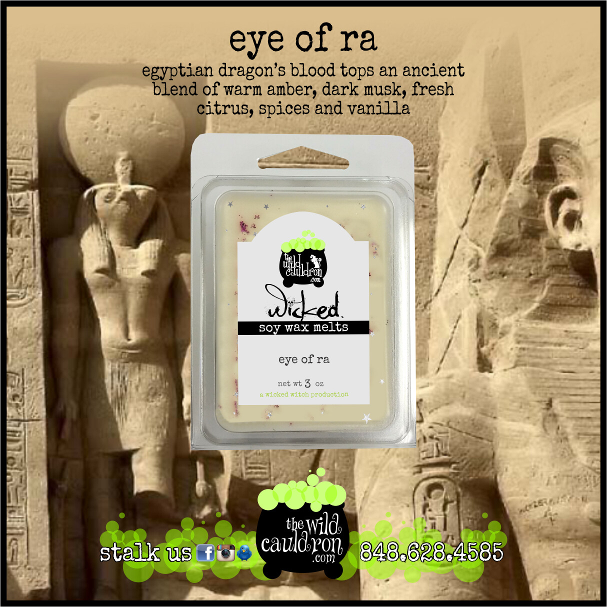 Eye of Ra Wicked Wax Melts