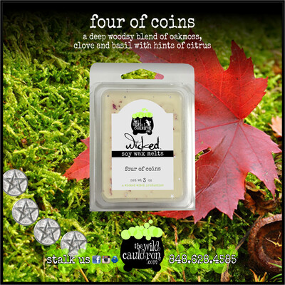 Four of Coins Wicked Wax Melts