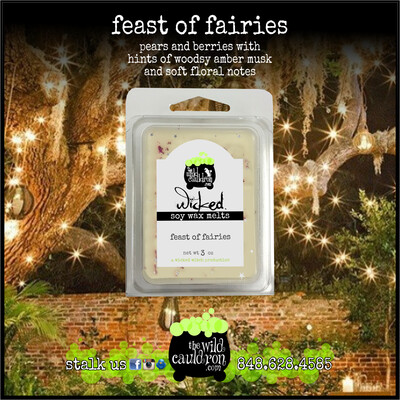 Feast of Fairies Wicked Wax Melts