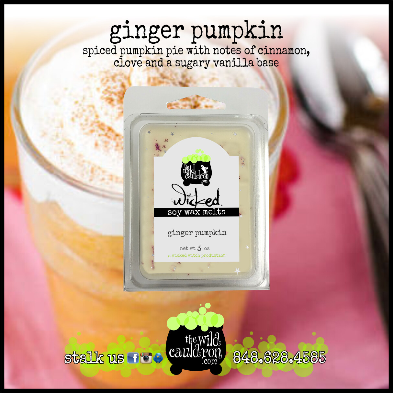 Ginger Pumpkin Wicked Wax Melts