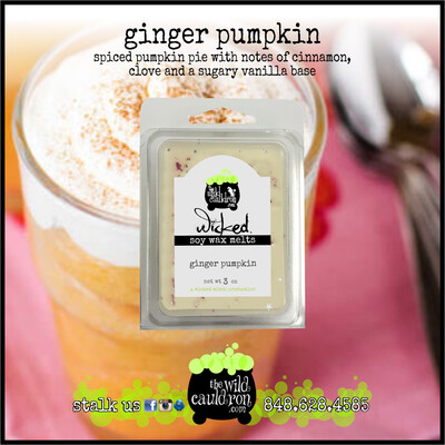 Ginger Pumpkin Wicked Wax Melts