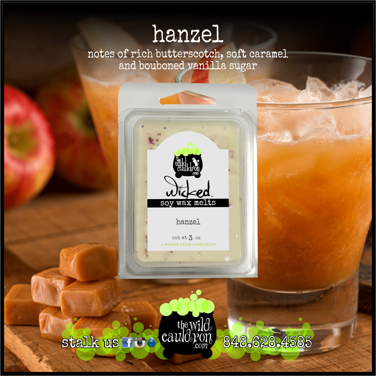 Hanzel Wicked Wax Melts
