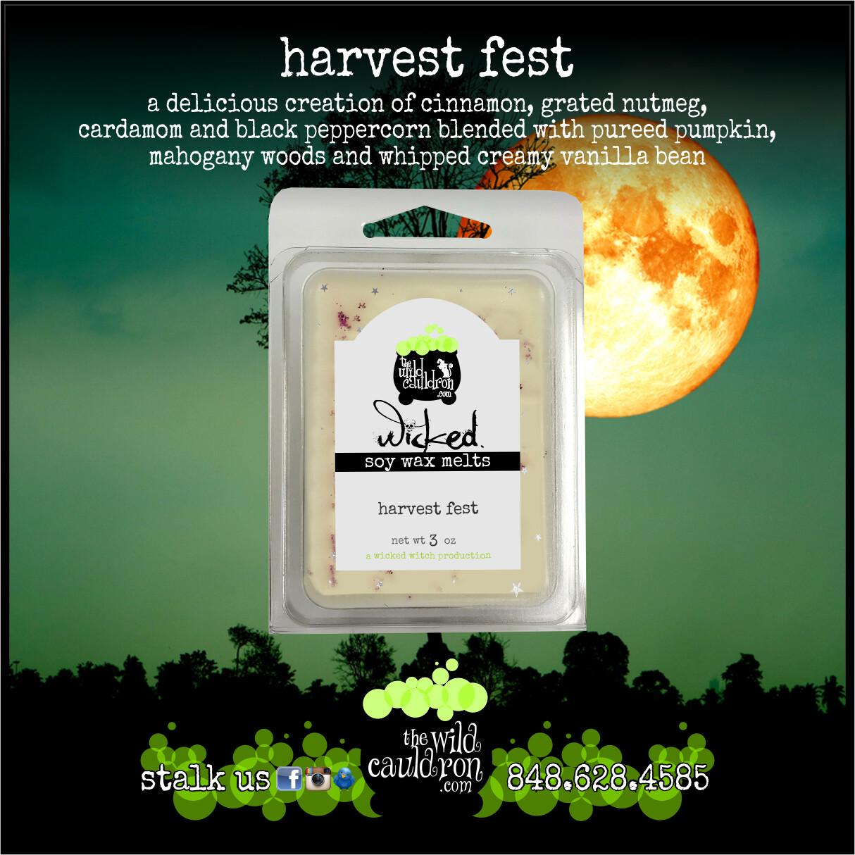 Harvest Fest Soy Wax Melts