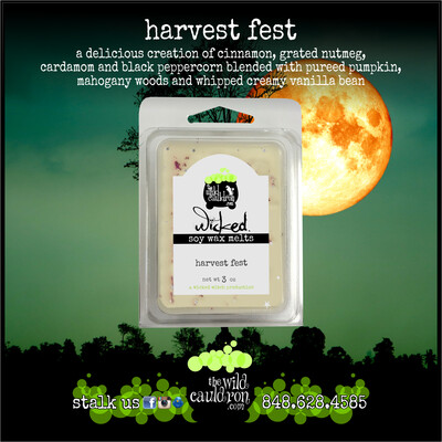 Harvest Fest Soy Wax Melts