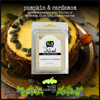 Pumpkin & Cardamom Wicked Wax Melts