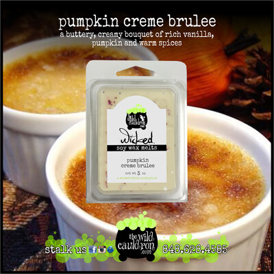 Pumpkin Creme Brulee Wicked Wax Melts