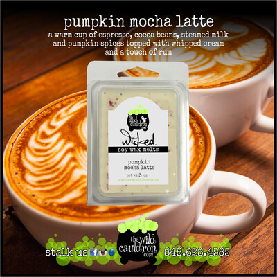 Pumpkin Mocha Latte Wicked Wax Melts
