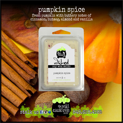 Pumpkin Spice Wicked Wax Melts