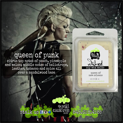 Queen of Punk Wicked Wax Melts