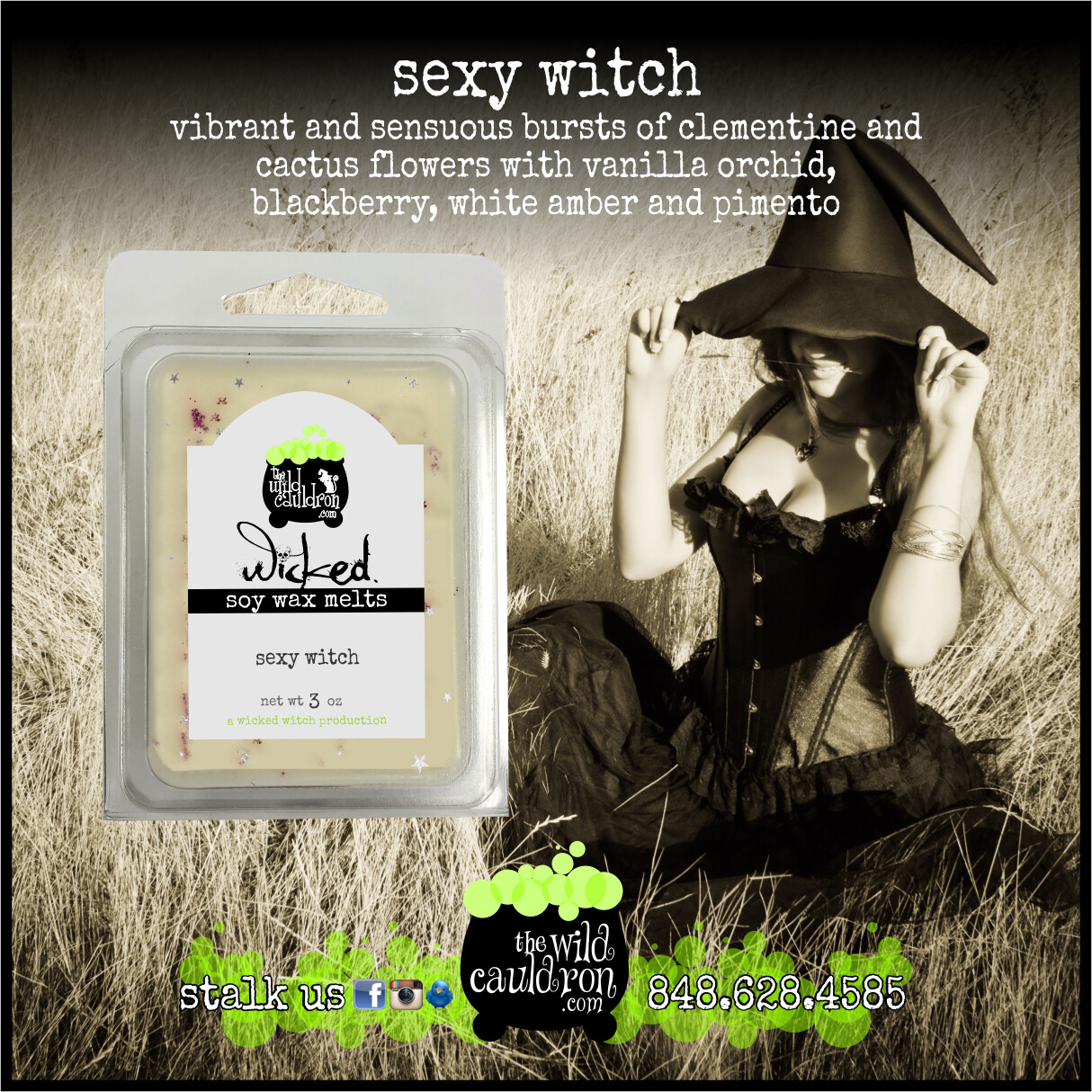 Sexy Witch Wicked Wax Melts