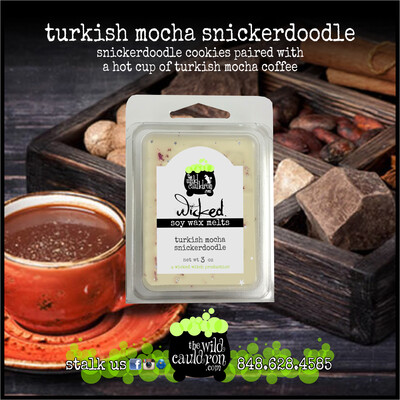 Turkish Mocha Snickerdoodle Wicked Wax Melts