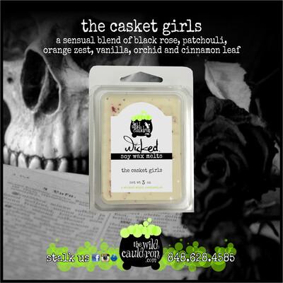 The Casket Girls Wicked Wax Melts