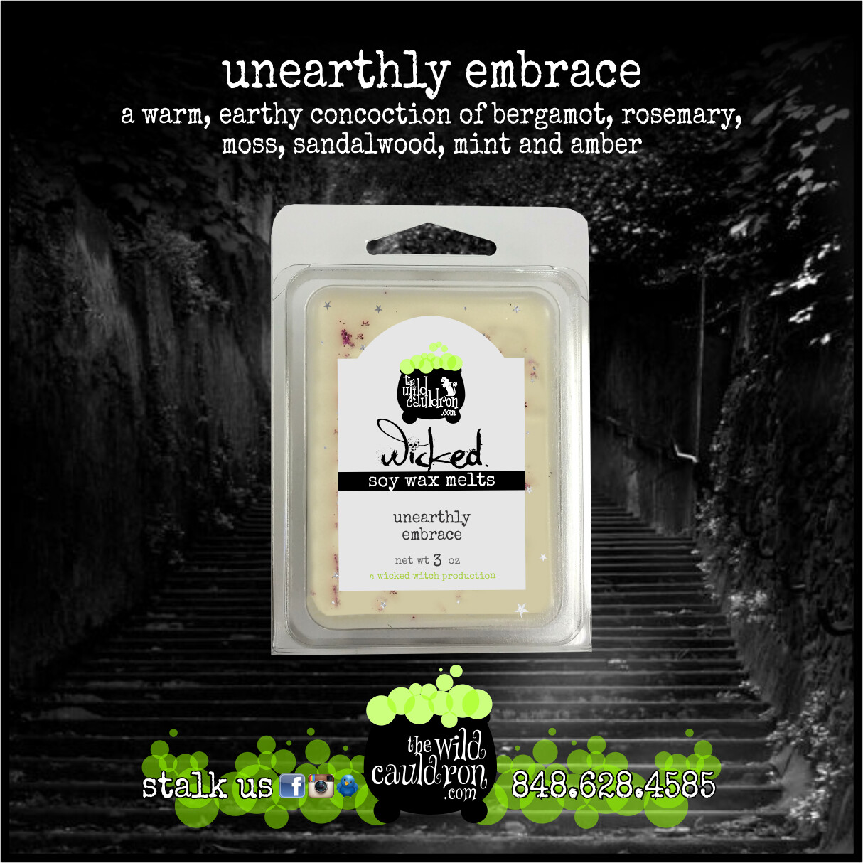 Unearthly Embrace Wicked Wax Melts