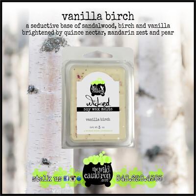 Vanilla Birch Wicked Wax Melts