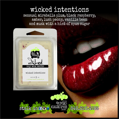 Wicked Intentions Wicked Wax Melts