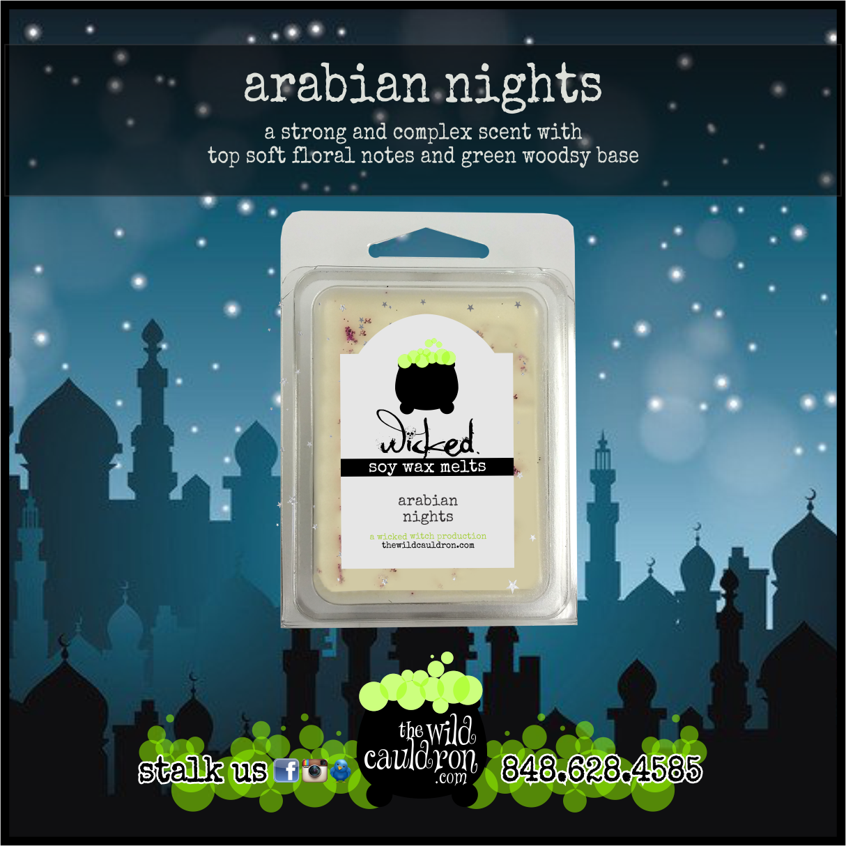 Arabian Nights Wicked Wax Melts