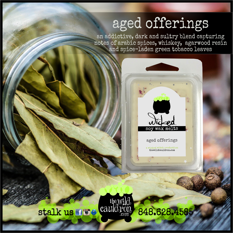Aged Offerings Wicked Wax Melts
