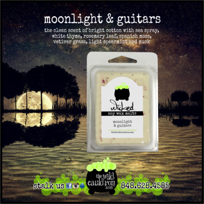 Moonlight and Guitars Wicked Wax Melts