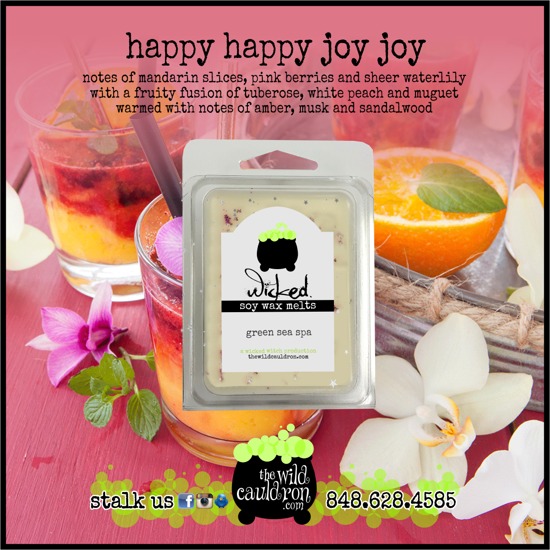 Happy Happy Joy Joy Wicked Wax Melts