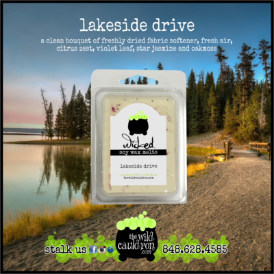 Lakeside Drive Wicked Wax Melts